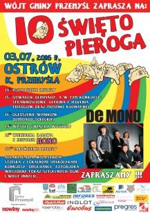 Plakat Swieto Pieroga