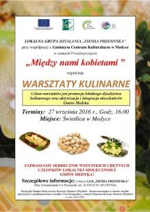 Warsztaty kulinarne w Gminie Medyka
